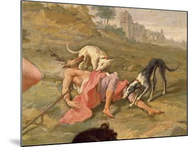 Diana and Actaeon, 1721-Giovanni Battista Pittoni the Younger-Mounted Giclee Print