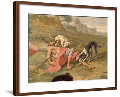 Diana and Actaeon, 1721-Giovanni Battista Pittoni the Younger-Framed Giclee Print