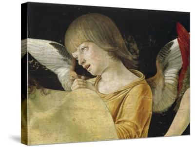 Pieta or Dead Christ Supported by Angels, Ca 1474-Giovanni Bellini-Stretched Canvas Print