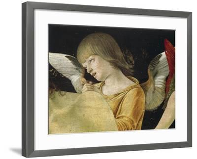 Pieta or Dead Christ Supported by Angels, Ca 1474-Giovanni Bellini-Framed Giclee Print