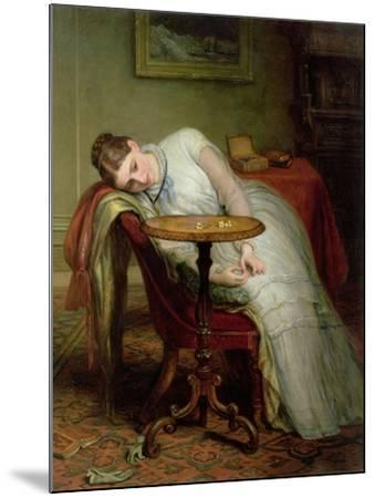 Hope Deferred, and Hopes and Fears That Kindle Hope, before 1877-Charles West Cope-Mounted Giclee Print