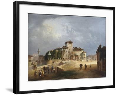 The Fortress of San Vitale in Fontanellato-Giuseppe Alinovi-Framed Giclee Print