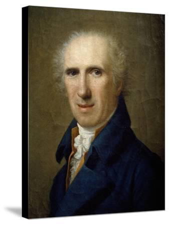 Portrait of Sculptor Antonio Canova-Gaspare Landi-Stretched Canvas Print