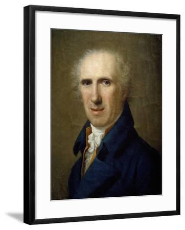 Portrait of Sculptor Antonio Canova-Gaspare Landi-Framed Giclee Print