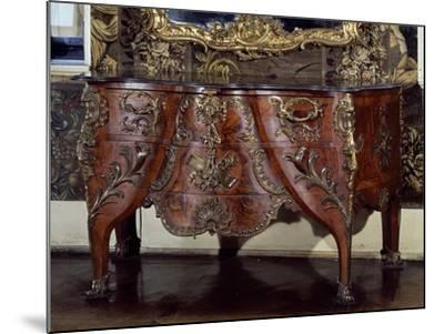 Commode with Bronze Applications-Christian Jacob Preisler-Mounted Giclee Print
