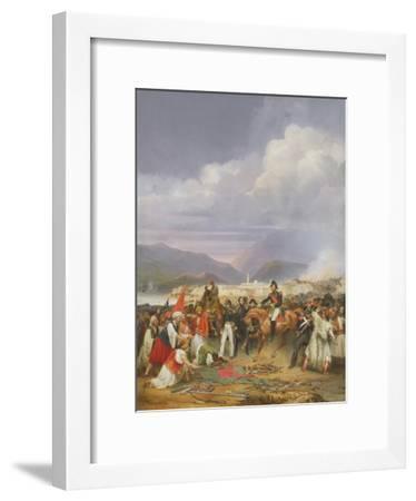 The Capture of Morea Castle, 30th October 1828, 1836-Jean Charles Langlois-Framed Giclee Print