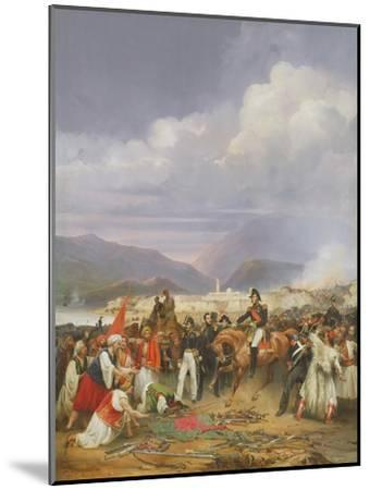 The Capture of Morea Castle, 30th October 1828, 1836-Jean Charles Langlois-Mounted Giclee Print