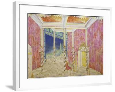 Set Design for Jacobin, Opus 84-Antonin Leopold Dvorak-Framed Giclee Print