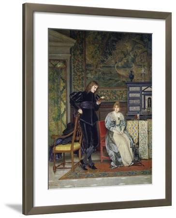 Sixteenth Century Interior Scene-Odoardo Gelli-Framed Giclee Print