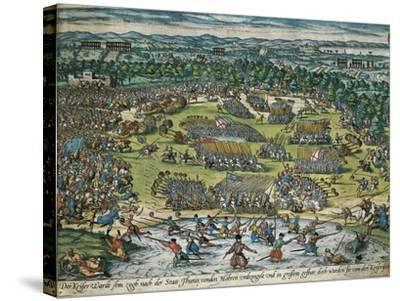 Charles V's Army Against Tunis, 1535-Franz Hogenberg-Stretched Canvas Print