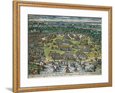 Charles V's Army Against Tunis, 1535-Franz Hogenberg-Framed Giclee Print