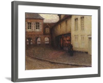 The Little Shop, Gerberoy; La Petit Boutique, Gerberoy, C.1906-Henri Eugene Augustin Le Sidaner-Framed Giclee Print