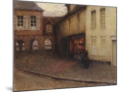 The Little Shop, Gerberoy; La Petit Boutique, Gerberoy, C.1906-Henri Eugene Augustin Le Sidaner-Mounted Giclee Print
