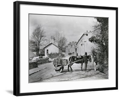 Street Scene in Rostrevor, County Down, Ireland, C.1895-Robert John Welch-Framed Giclee Print