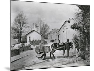Street Scene in Rostrevor, County Down, Ireland, C.1895-Robert John Welch-Mounted Giclee Print