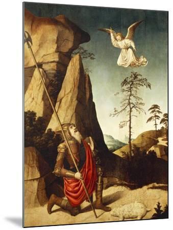 The Miracle of Fleece of Gideon, 1500-Nicolas Dipre-Mounted Giclee Print