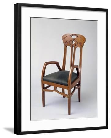 Armchair, Part of a Room Exhibited in Milan in 1906-Eugenio Quarti-Framed Giclee Print