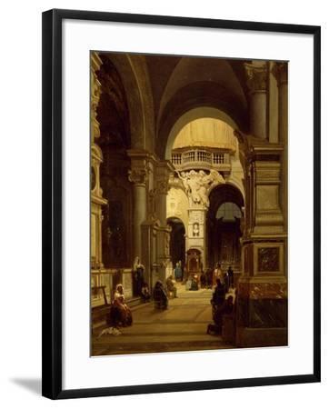 Santa Maria Del Popolo Church in Rome-Luigi Marchesi-Framed Giclee Print
