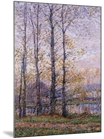 The Banks of the Oise at Precy; Les Bords De L'Oise a Precy-Gustave Loiseau-Mounted Giclee Print