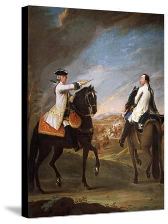 Portrait of William Montfort, 1755-Pietro Longhi Antonio-Stretched Canvas Print