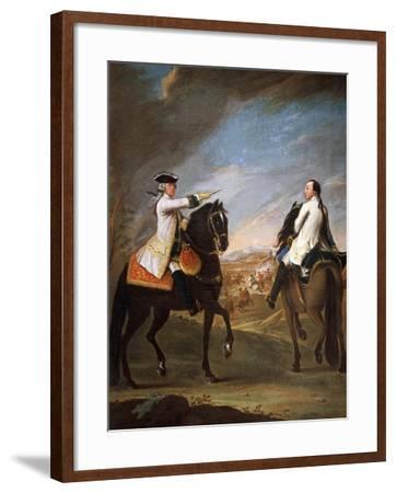 Portrait of William Montfort, 1755-Pietro Longhi Antonio-Framed Giclee Print