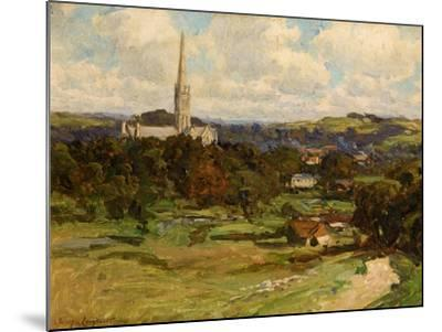Distant View with the Downs in the Background, 1906-Joseph Longhurst-Mounted Giclee Print