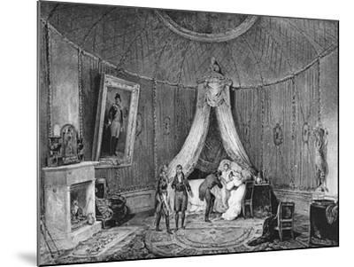 Death of Joséphine De Beauharnais on 29th May 1814, 1829-Jean Louis Tirpenne-Mounted Giclee Print