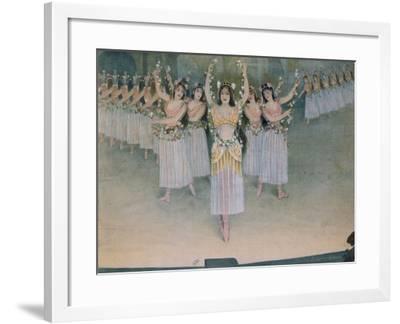 Samson and Delilah-Charles Camille Saint-Saens-Framed Giclee Print
