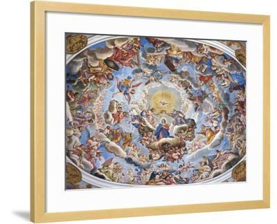 Coronation of the Virgin-Giuseppe Mattia Borgnis-Framed Giclee Print