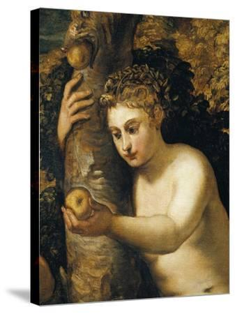 Original Sin, 1550-1553-Jacopo Robusti-Stretched Canvas Print