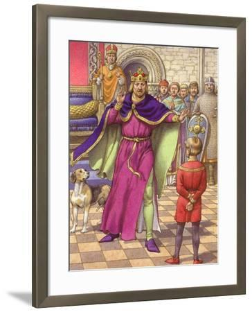 A Young Boy Was Employed to Tell King Henry That His Son Was Dead-Pat Nicolle-Framed Giclee Print