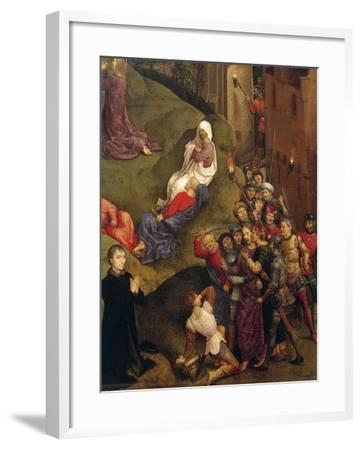 Kiss of Judas, Detail from Passion of Christ, 1471-Hans Memling-Framed Giclee Print