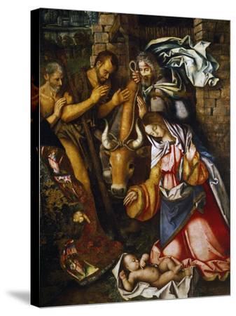 Adoration of the Shepherds-Francesco Zaganelli-Stretched Canvas Print
