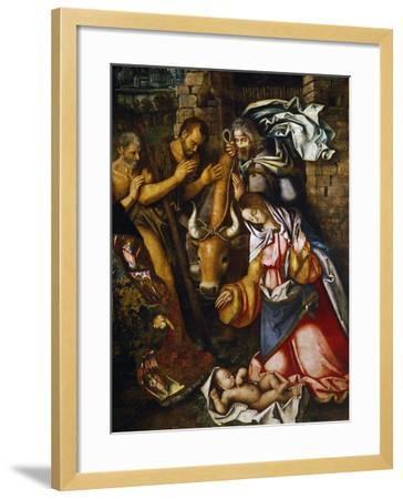 Adoration of the Shepherds-Francesco Zaganelli-Framed Giclee Print