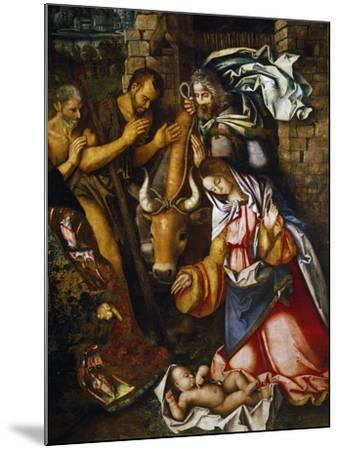 Adoration of the Shepherds-Francesco Zaganelli-Mounted Giclee Print