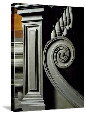 Architectural Detail from Interior of Laurentian Library-Michelangelo Buonarroti-Stretched Canvas Print