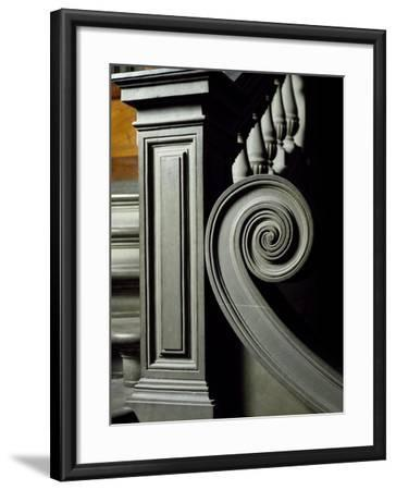 Architectural Detail from Interior of Laurentian Library-Michelangelo Buonarroti-Framed Giclee Print