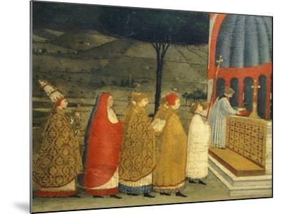 Predella of Miracle of Profaned Host-Paolo Uccello-Mounted Giclee Print