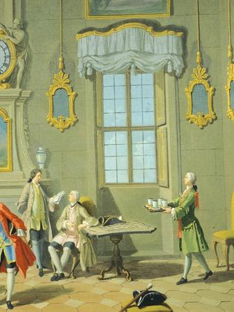 Hours of Day, Morning, 1753-1755-Giuseppe Zocchi-Framed Giclee Print