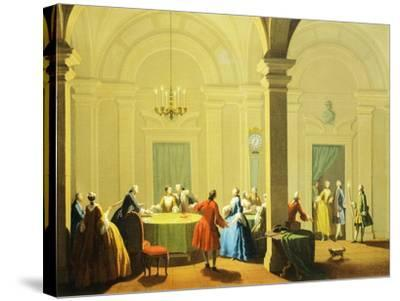 Hours of Day, Night, 1753-1755-Giuseppe Zocchi-Stretched Canvas Print