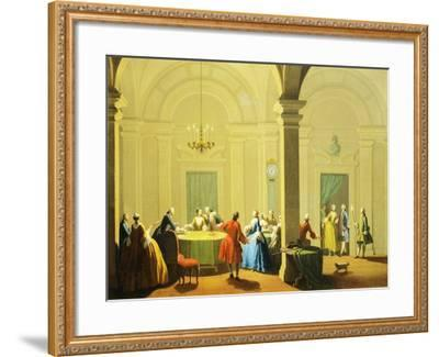 Hours of Day, Night, 1753-1755-Giuseppe Zocchi-Framed Giclee Print