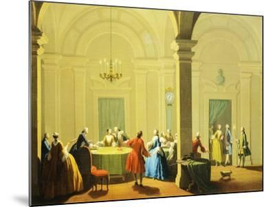 Hours of Day, Night, 1753-1755-Giuseppe Zocchi-Mounted Giclee Print