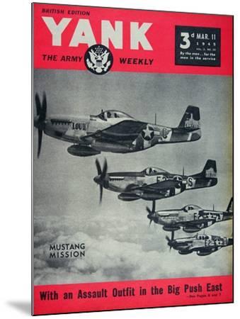 Us Army Yank Magazine British Edition, 11th March 1945--Mounted Giclee Print