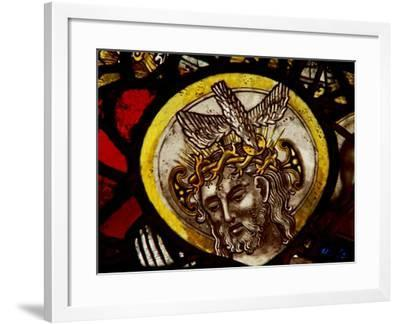 Window S1 Depicting Christ - from the Trinity Panel--Framed Giclee Print