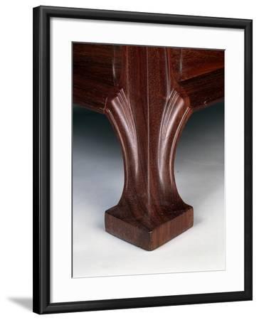 Art Nouveau Style Three-Tier Pedestal Table, Ca 1910-Eugene Vallin-Framed Giclee Print