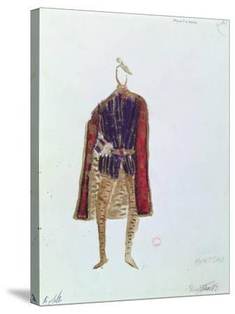 Costume Design for Monterone in the Opera 'Rigoletto'--Stretched Canvas Print