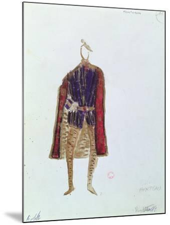 Costume Design for Monterone in the Opera 'Rigoletto'--Mounted Giclee Print