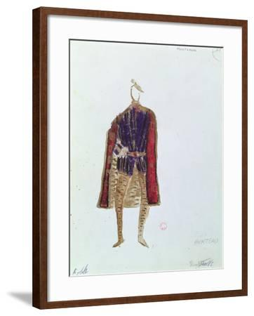 Costume Design for Monterone in the Opera 'Rigoletto'--Framed Giclee Print