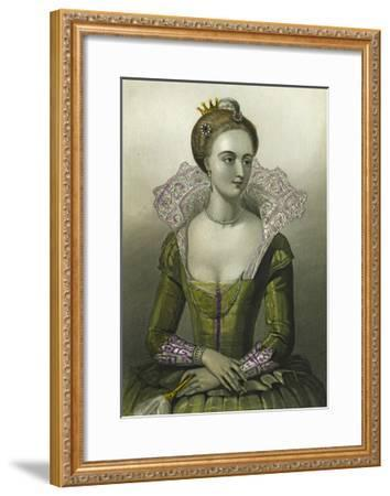 Anne of Denmark, Queen Consort of James I of Great Britain, 1856--Framed Giclee Print