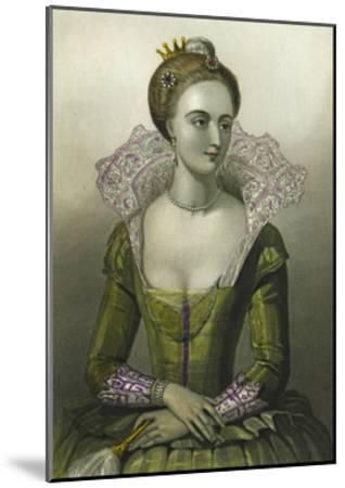 Anne of Denmark, Queen Consort of James I of Great Britain, 1856--Mounted Giclee Print